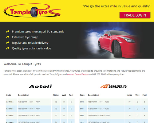 Temple Tyres